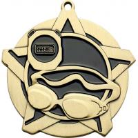 Swimming Super Star Medal