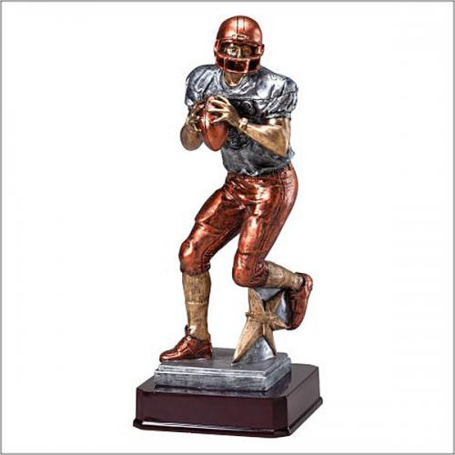 Football Quarterback Resin Trophy