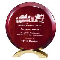 Rosewood Piano Finish Disk Award