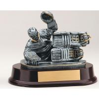 Ice Hockey Goalie Trophy