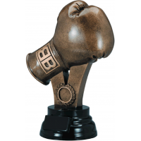 Large Boxing Glove Resin Trophy