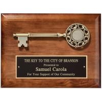 Walnut Key to the City Plaque