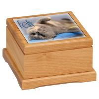 Red Alder Pet Urn - Small