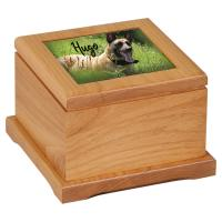 Red Alder Pet Urn - Large